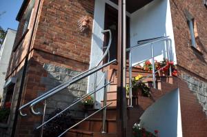 Nasze schody w jednym z budynków